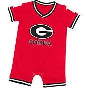 Colosseum Athletics Infant Georgia Bulldogs Red Runback Onsie