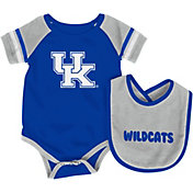 Colosseum Athletics Infant Kentucky Wildcats Blue Roll-Out Onsie And Bib Set
