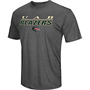 Colosseum Men's UAB Blazers Grey Matrix T-Shirt