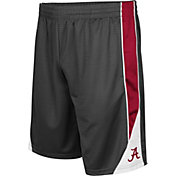 Colosseum Men's Alabama Crimson Tide Grey Turn Over Shorts