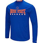 Colosseum Women's Boise State Broncos Blue Streamer Long Sleeve T-Shirt