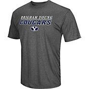 Colosseum Men's Brigham Young Cougars Grey Matrix T-Shirt