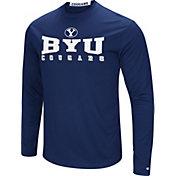 Colosseum Women's BYU Cougars Blue Streamer Long Sleeve T-Shirt