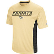 Colosseum Men's UCF Knights Gold Beamer T-Shirt