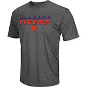 Colosseum Men's Clemson Tigers Grey Matrix T-Shirt