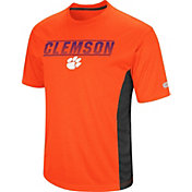 Colosseum Men's Clemson Tigers Orange Beamer T-Shirt