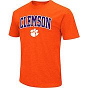 Colosseum Men's Clemson Tigers Orange Dual Blend T-Shirt