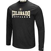 Colosseum Men's Colorado Rams Black Streamer Long Sleeve T-Shirt
