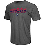 Colosseum Men's Connecticut Huskies Grey Matrix T-Shirt