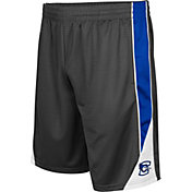 Colosseum Men's Creighton Bluejays Grey Turn Over Shorts