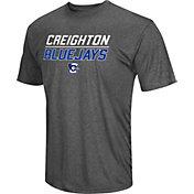 Colosseum Men's Creighton Bluejays Grey Matrix T-Shirt