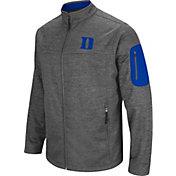 Colosseum Men's Duke Blue Devils Grey Anchor Full-Zip Jacket