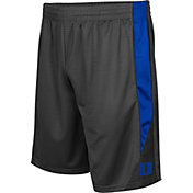 Colosseum Men's Duke Blue Devils Grey Turn Over Shorts