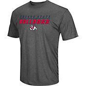 Colosseum Men's Fresno State Bulldogs Grey Matrix T-Shirt