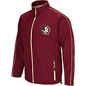 Colosseum Men's Florida State Seminoles Garnet Barrier Full Zip Wind Jacket