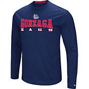 Colosseum Women's Gonzaga Bulldogs Blue Streamer Long Sleeve T-Shirt