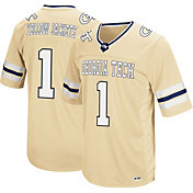 Colosseum Men's Georgia Tech Yellow Jackets #1 Gold Hail Mary Football Jersey