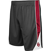 Colosseum Men's Oklahoma Sooners Grey Turn Over Shorts