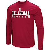 Colosseum Women's Oklahoma Sooners Red Streamer Long Sleeve T-Shirt