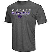 Colosseum Men's Kansas State Wildcats Grey Matrix T-Shirt