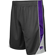 Colosseum Men's Kansas State Wildcats Grey Turn Over Shorts