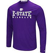 Colosseum Women's Kansas State Wildcats Purple Streamer Long Sleeve T-Shirt