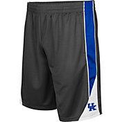 Colosseum Men's Kentucky Wildcats Grey Turn Over Shorts