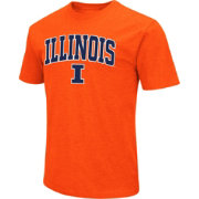 Colosseum Men's Illinois Fighting Illini Orange Dual Blend T-Shirt