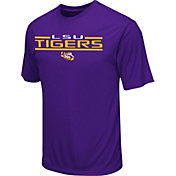 Colosseum Athletics Men's LSU Tigers Purple T-Shirt