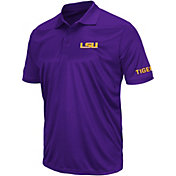 Colosseum Men's LSU Tigers Purple Performance Polo
