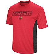 Colosseum Men's Louisville Cardinals Cardinal Red Beamer T-Shirt