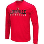 Colosseum Women's Louisville Cardinals Cardinal Red Streamer Long Sleeve T-Shirt
