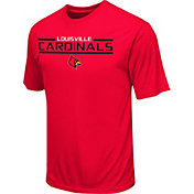 Colosseum Athletics Men's Louisville Cardinals Cardinal Red T-Shirt