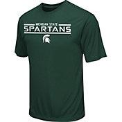 Colosseum Athletics Men's Michigan State Spartans Green T-Shirt