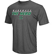 Colosseum Men's Marshall Thundering Herd Grey Matrix T-Shirt