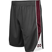 Colosseum Men's Mississippi State Bulldogs Grey Turn Over Shorts