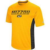 Colosseum Men's Missouri Tigers Gold Beamer T-Shirt