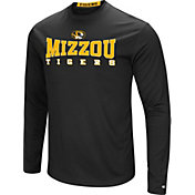 Colosseum Women's Missouri Tigers Black Streamer Long Sleeve T-Shirt