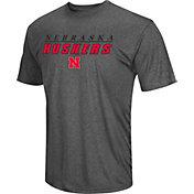 Colosseum Men's Nebraska Cornhuskers Grey Matrix T-Shirt