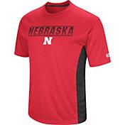 Colosseum Men's Nebraska Cornhuskers Red Beamer T-Shirt