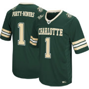 Colosseum Men's Charlotte 49ers #1 Green Hail Mary Football Jersey