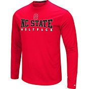 Colosseum Women's North Carolina State Wolfpack Red Streamer Long Sleeve T-Shirt