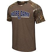 Colosseum Athletics Men's Notre Dame Fighting Irish Home Range Raglan T-Shirt