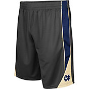 Colosseum Men's Notre Dame Fighting Irish Grey Turn Over Shorts