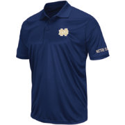Colosseum Men's Notre Dame Fighting Irish Navy Performance Polo