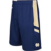 Colosseum Athletics Men's Notre Dame Fighting Irish Navy Setter Shorts