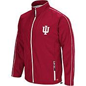 Colosseum Men's Indiana Hoosiers Crimson Barrier Full Zip Wind Jacket