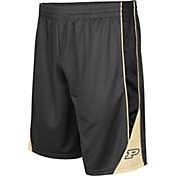Colosseum Men's Purdue Boilermakers Grey Turn Over Shorts