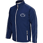 Colosseum Men's Penn State Nittany Lions Blue Barrier Full Zip Wind Jacket