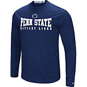 Colosseum Women's Penn State Nittany Lions Blue Streamer Long Sleeve T-Shirt